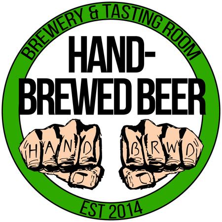 Hand-Brewed Beer - Hand-Brewed Beer Logo
