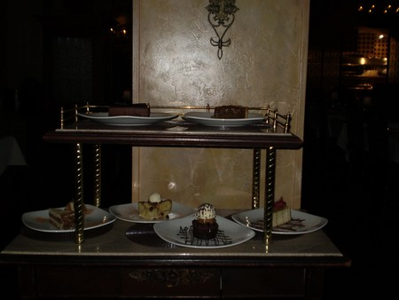 Sonoma Cellar Steakhouse - Dessert Cart Sonoma Cellar