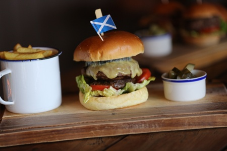 The MacDonald Hotel & Cabins - The Highlander Burger
