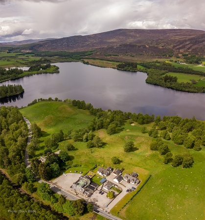 Rowan Tree Country Hotel & Restaurant - Aerial View