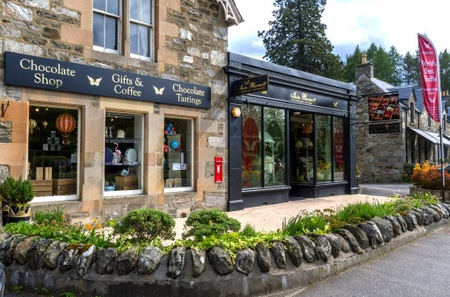 Iain Burnett Highland Chocolatier - Shop External
