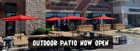 Will County Brewing - Outdoor Patio Open