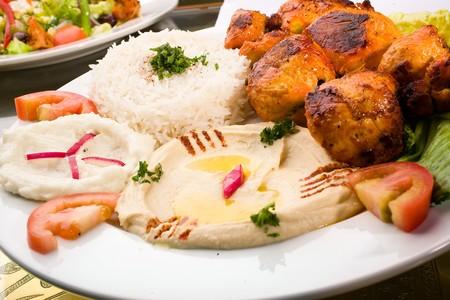 Aladdin - Chicken Tika Kabob