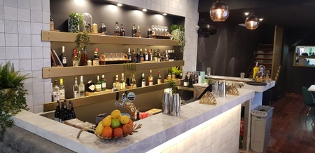 The Moshen Restaurant & Lounge - Our bar