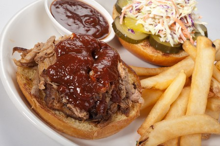 Bully's East - Pulled Pork Sandwich