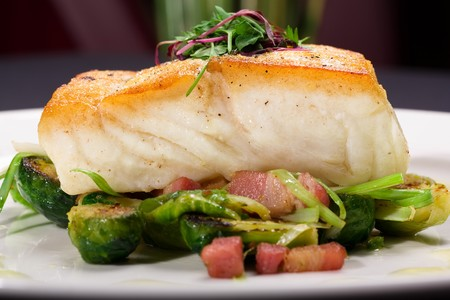 The Fleetwood - Pan Roasted Halibut