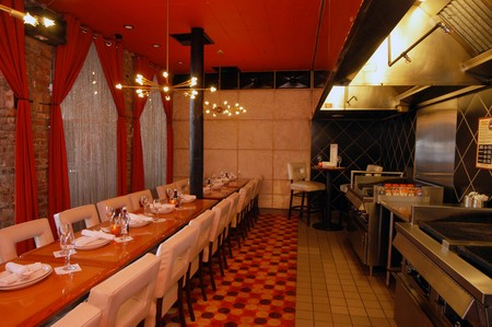 Gaslamp Strip Club - Dining Table and Grills