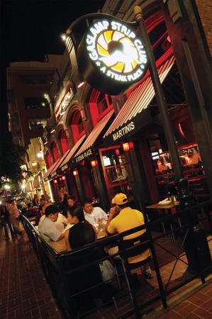 Gaslamp Strip Club - Patio Seating