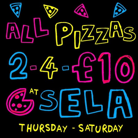 Sela Bar - Pizza Offer