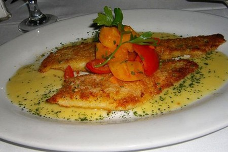 Eddie V's - Lemon Sole