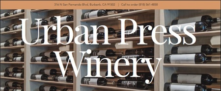 Urban Press Winery - Wine Wall