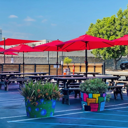 Smog City Brewing Co. - Patio seating