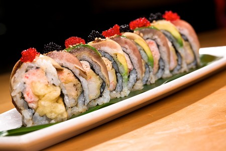 Cafe Japengo - Special Albacore Roll