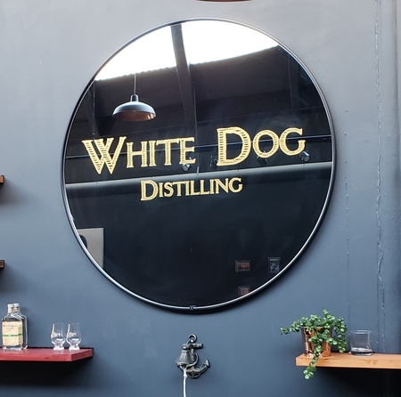 White Dog Distilling - Mirror