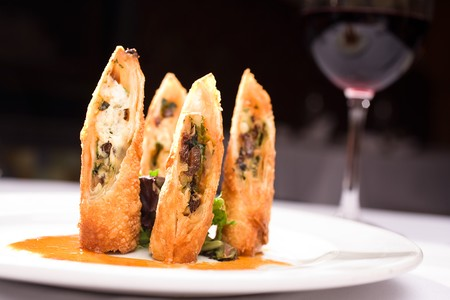 Sbicca - Chicken Goat Cheese Spring Rolls