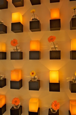 Second Story - Candle & Flower Wall