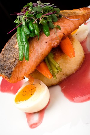 Solare - Seared Salmon