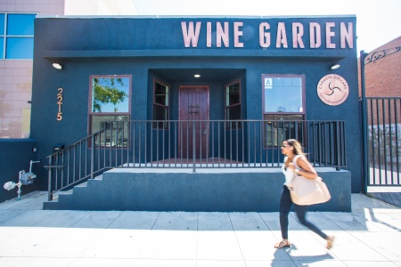 Carruth Cellars Wine Garden - WG Front