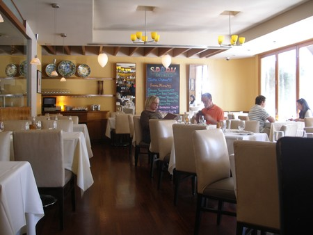 Spark Woodfire Grill - Studio City - Spark Downstairs Dining Room