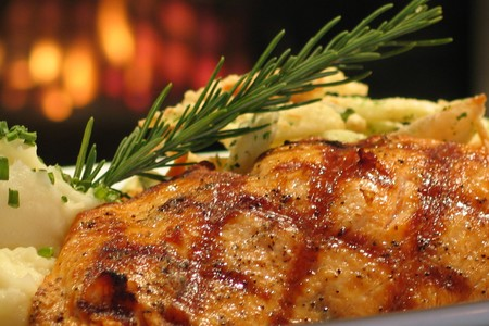 Red Fish - Mesquite Grilled Organic Salmon