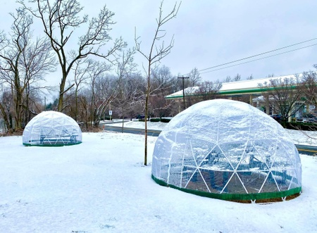 Ten Eyck Brewing Co - Igloos!