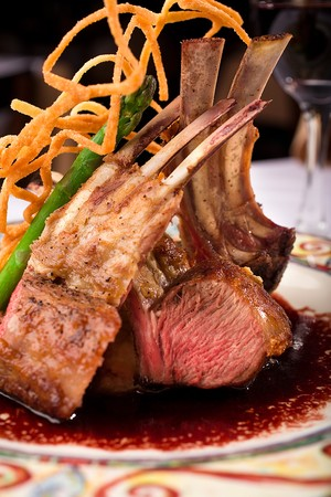 Antica Trattoria - Rack of Lamb