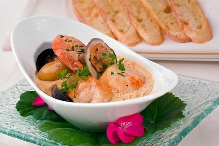 Bernard'O Restaurant - Seafood Dish