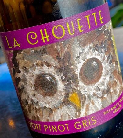 Ovation Bistro - La Chouette Pinot Gris