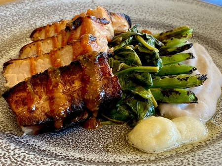 Ovation Bistro - Poitrine de Porc