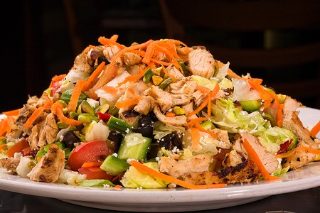 Aladdin Restaurant - Chopped Chicken Salad