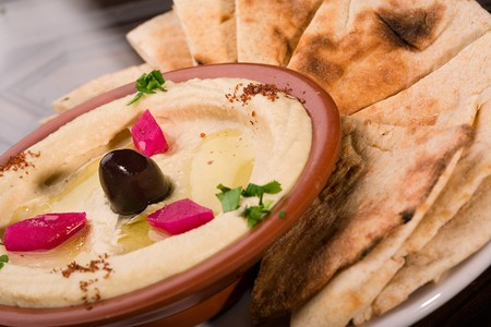Aladdin Restaurant - Hummus