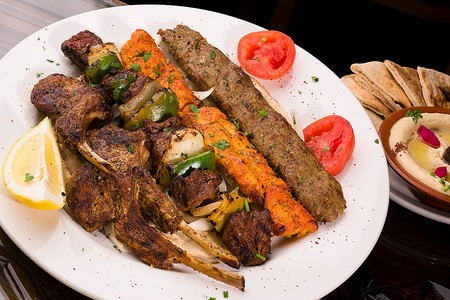 Aladdin Restaurant - Mixed Grill