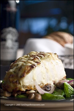 Dakota Grill - Parmesan Potato Crusted Halibut