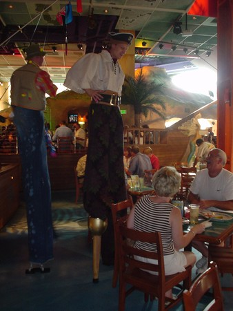 Margaritaville - Stilt Walkers at Margaritaville