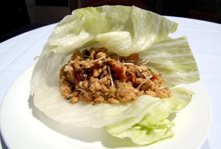 Del Mar Rendezvous - Chicken Lettuce Wraps