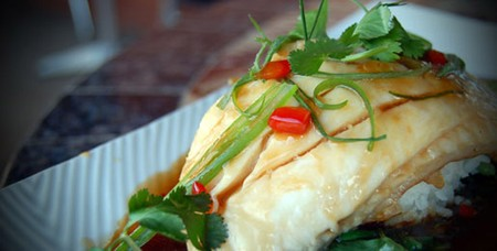 Del Mar Rendezvous - Steamed Fish Filet