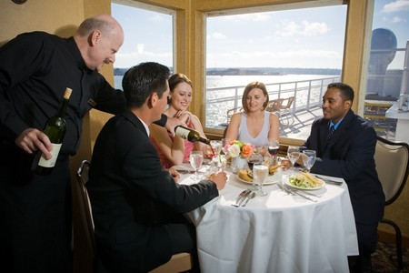 Hornblower Cruises & Events - Dining in style aboard Hornblower dinner cruise