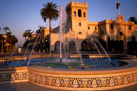 The Prado at Balboa Park - Fountain