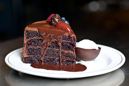 Truluck's - Dallas - Chocolate Cake