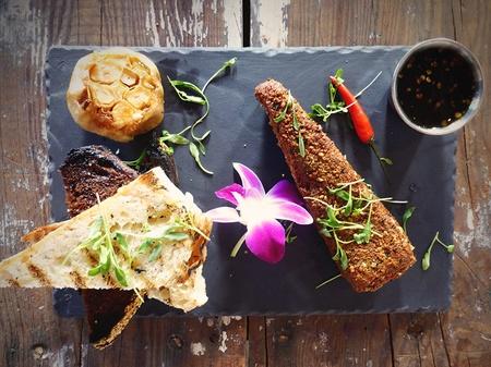 Indigo Grill - Chef Deborah's Pipian Crusted Brie