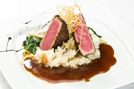 Nellie Cashman's Monday Club - Seared Ahi
