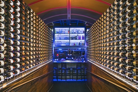 La Jolla Strip Club - Interieur wine