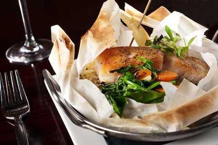 Firefly Restaurant and Bar - Seabass en Papillote