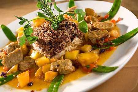 """Tao Vietnamese Japanese Cuisine - Mango """"Chicken"""" Rice"""