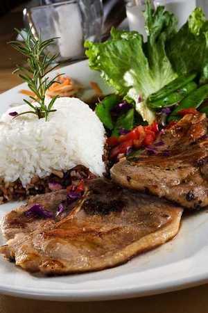 Tao Vietnamese Japanese Cuisine - Lemongrass Pork Chop