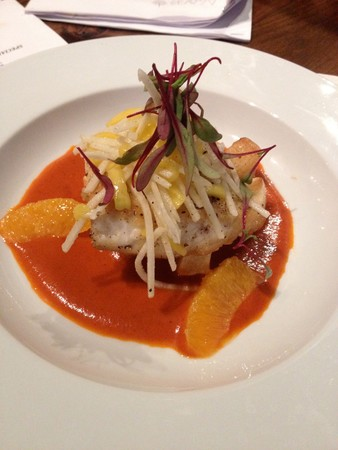 Agaves Kitchen and Tequila - Pescado Al Pibil