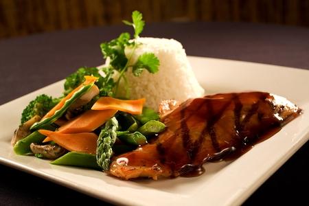Monsoon Cafe - Roasted Crispy-Glazed Chicken