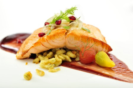 KITCHEN 1540 - Kitchen 1540 Salmon Entree
