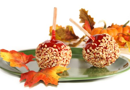 San Diego Desserts - candy apples