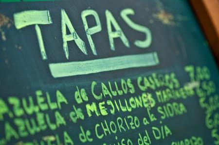 Sevilla Nightclub - tapas menu